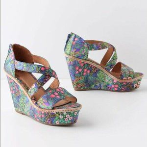 Miss Albright Size 7.5 Anthropologie Floriculture